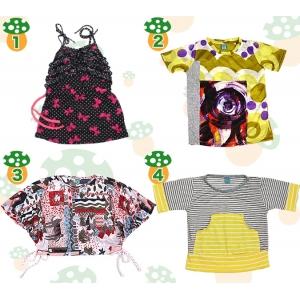 【夏物クリアランスセール】子供服☆Peggy(ペギー)☆トップス【男の子・女の子】