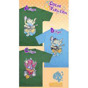ミュージシャン&ラッパー★ガネーシャプリントTシャツ