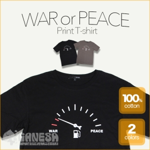 WAR or PEACE★FUELメーターTシャツ