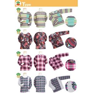 子供服Peggy★8タイプ長袖Tシャツ★80~130サイズ