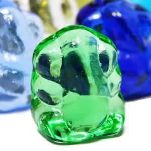ガラス製☆幸運のガネーシャ置物
