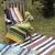 ビーチラグ ラグマット ブランケット 150cm×90cm ボーダー【長方形 おしゃれ かわいい アジアン エスニック シンプル コットン キャンプ アウトドア フェス インテリア】