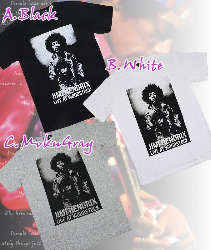 【再入荷】天才ギタリスト★ジミ・ヘンドリックスTシャツ