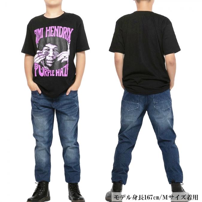 ロックTシャツ 半袖 jimi hendrix ジミヘン メンズ レディース 黒Tシャツ バンドTシャツ ロゴ ダンス ミュージック ROCK おしゃれ